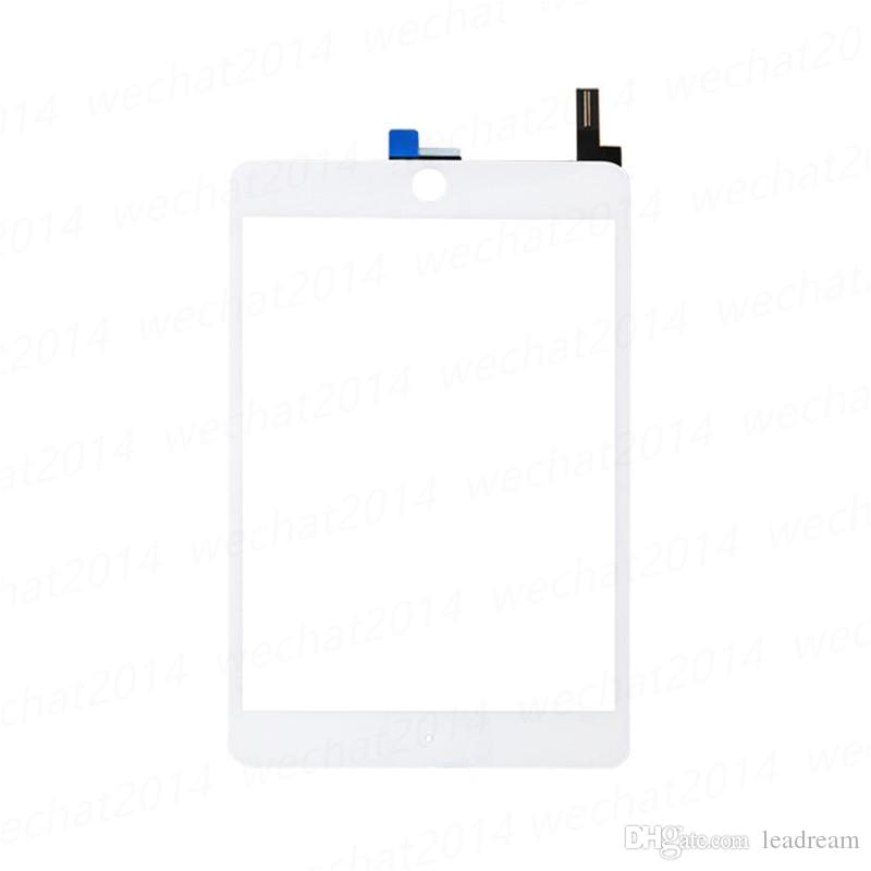 100% New Touch Screen Glass Panel with Digitizer Replacement for iPad Mini 4 Black and White free DHL