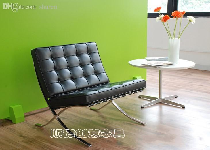 Wholesale Barcelona Chair Barcelona Chair Leather Sofa Chair Ikea
