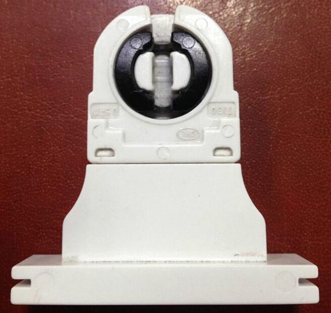 Qualidade Superior CE FCC VDE G13 Bases Da Lâmpada T8, Tomada de luz Para 4-80 w Tubo de Luz Led 500 V 5A