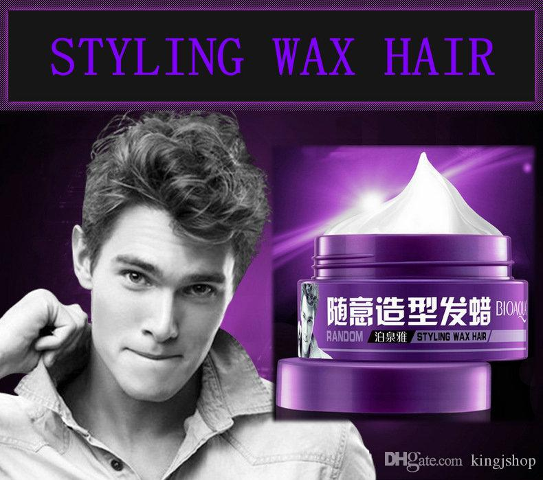 DHL BIOAQUA hairstyle wax Pomade Hair Gel Style Pomades Waxes hairstyling wax hair slicked back hair oil Gel water Suavecito Pomade 100g
