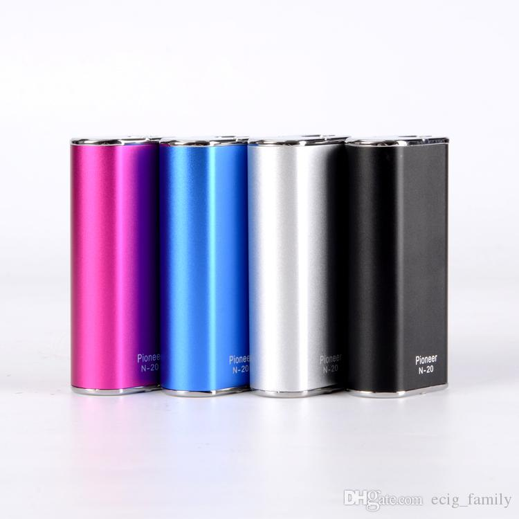 New Design vaporizers mechanical mod Pioneer N-20w N30 30w box mod Simple Kit fit for 510 vaporizer VS mini cloupor subox
