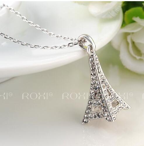 Wholesale valentines day gifts eiffel tower pendant necklace for wholesale valentines day gifts eiffel tower pendant necklace for women statement necklace eiffel tower charm necklace big heart pendant necklace 1069 silver aloadofball Images