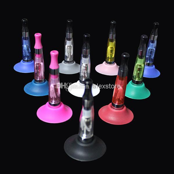 Ego Suckers e cigarrillo lechón de silicona soporte de base de goma soportes de exhibición de silicona tapas de goma soporte de lápiz para batería ego t evod ecigs vape