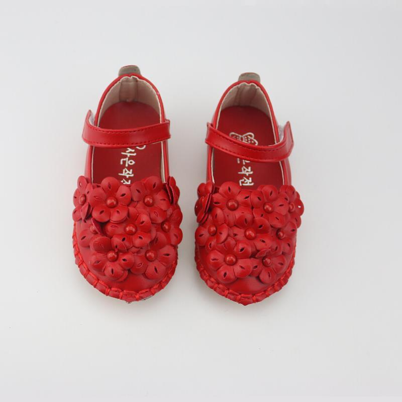 0d389f2a1ac Clearance Sale Children Shoes Girls Shoes Beautiful Flower Leather .
