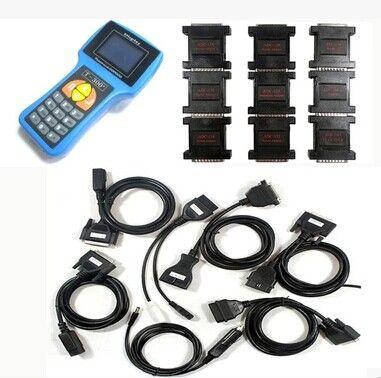 T300 Key Programmer V17.8 Latest Version T 300 T-CODE Key Transponder Key Auto Diagnostic Tool Blue Black Color Spanish English Languages