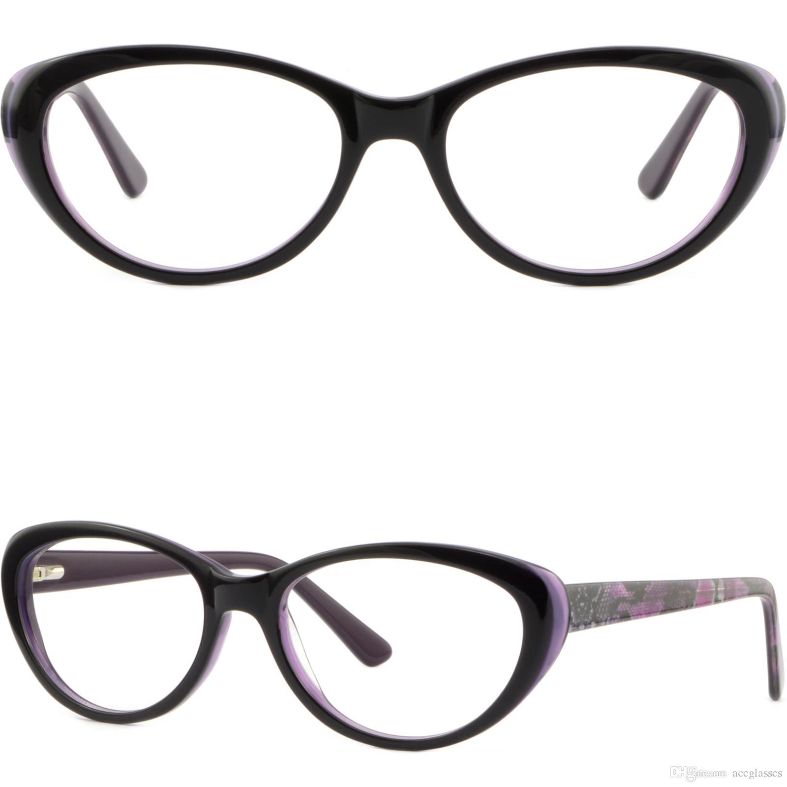 Großhandel Oval Frauen Rahmen Frühling Aufklappbare Brille Cateye ...