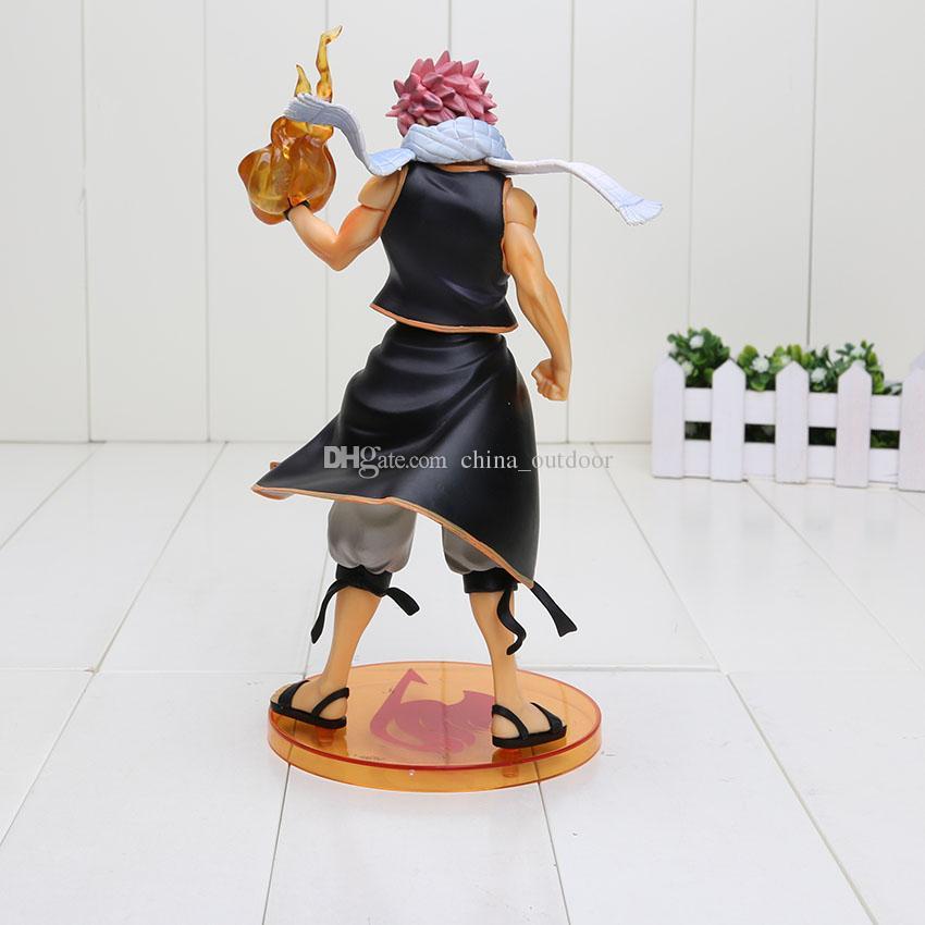 23cm Fairy Tail Action Figure Natsu Dragneel PVC Figure Toy Model 23CM