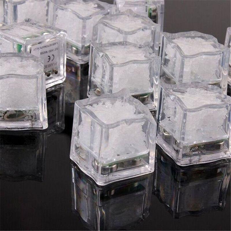 LED 라이트 아이스 큐브 야간 조명 파티 축광 액티브 큐브 무료 배송