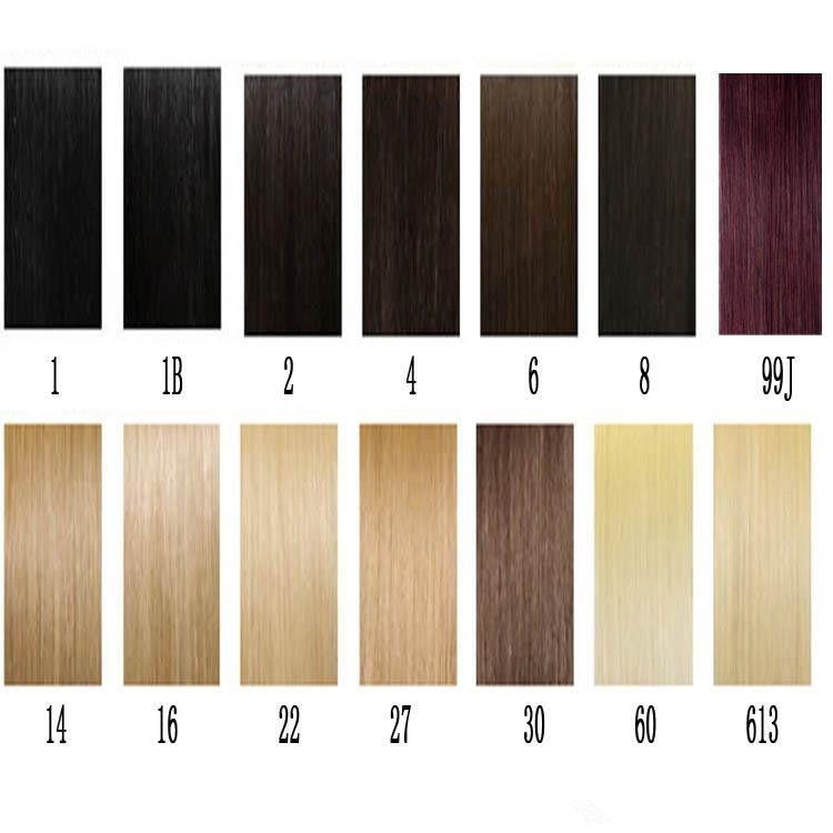 Ciltte Bant 4 cm Genişlik 10 '' - 26 '' 2.5G / PC 40 adet / 100g Düz Hint Saç Cilt Atkı Remy Bant Insan Saç Uzantıları