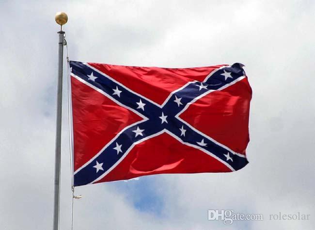 علم الكونفدرالية US BATTLE SOUTHERN FLAGS REBEL CIVIL WAR FLAG معركة العلم لجيش ولاية فرجينيا الشمالية