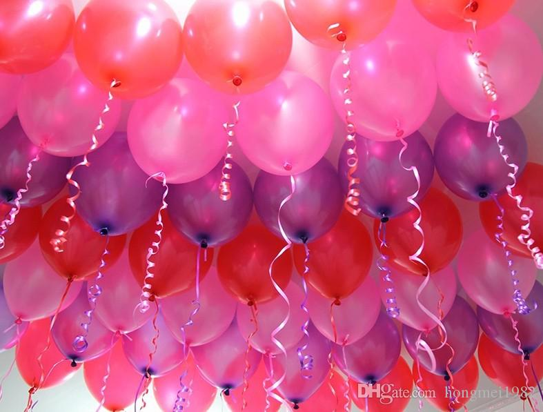 10 Inch 12gram Party Decoration Latex Ballons Thicken Based