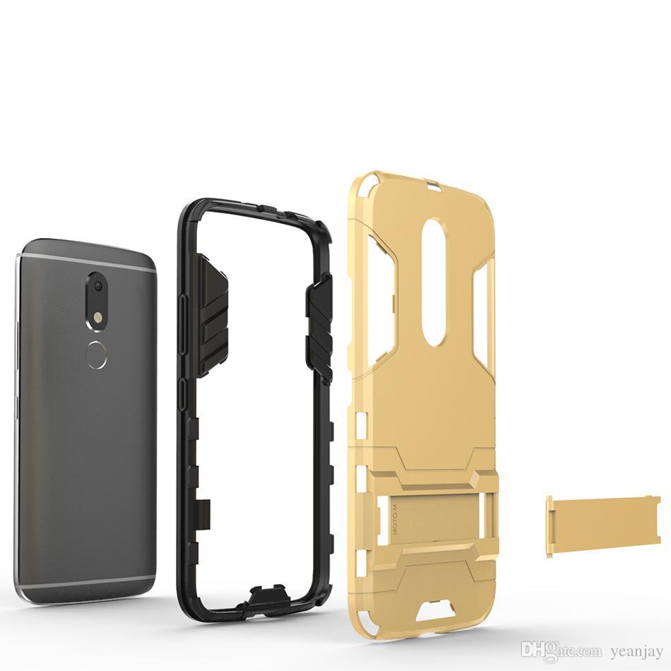 Hybrid Cell Phone Cases For Motorola Moto M XT1662 Covers Military Armor Housing Bags For Moto M Smartphone Case