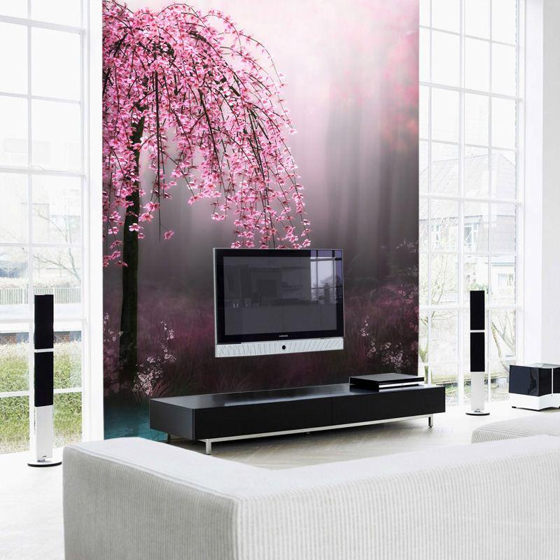 Custom 3d Photo Wallpaper Mural Living Room Background Wall Tv Modern Seamless Flower Hd Photos Top