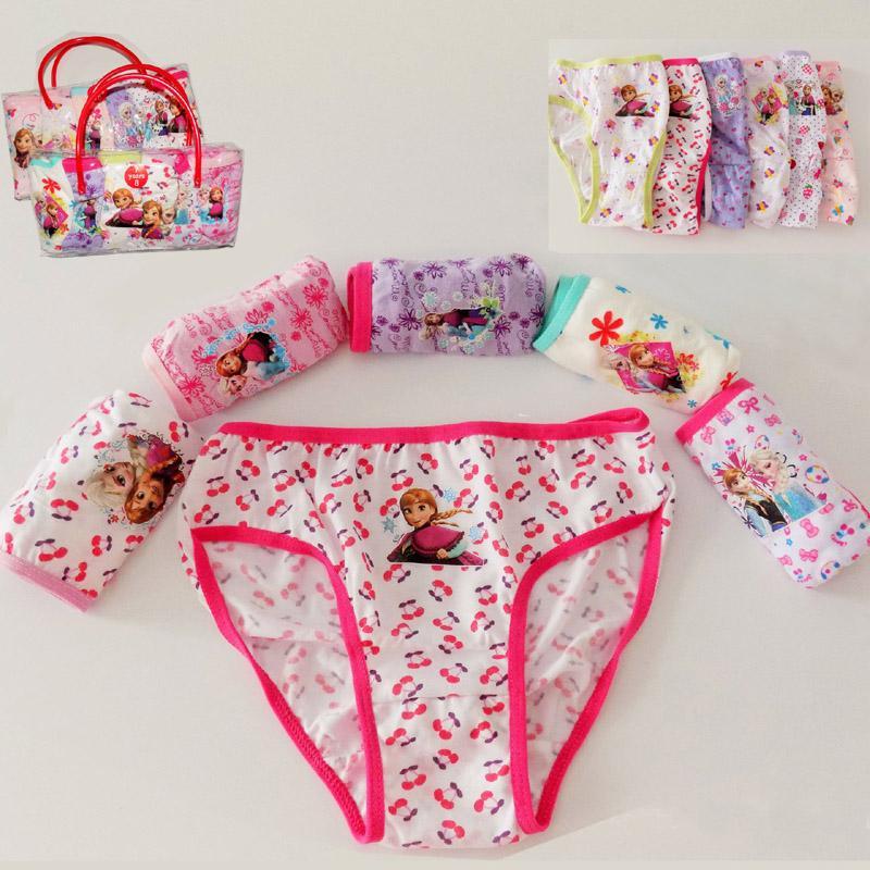 Cartoon Characters Underwear : Children underwear girls cartoon characters panties kids