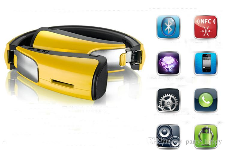 Yo Cut Fighter X - 9s Bluetooth Speakers Sound Mobile Tablet Wireless Portable Mini Yellow Cool Portable Wireless Bluetooth Speakers
