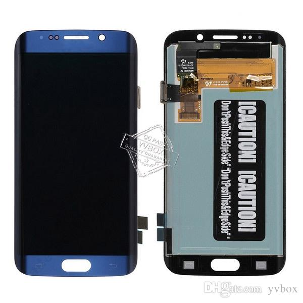 YVBOX B Grade SBI / Dead Pixel Screen For Samsung Galaxy S6 Edge Plus G928 All Carriers LCD Display Digitizer Touch Screen Assembly