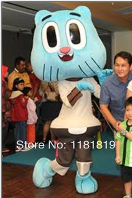 Amazing World Of Gumball Mascot Costume Custom Fancy Costume Cartoon Anime Cosplay Kits Mascotte Theme Carnival Costume Halloween Costumes For Teams ...  sc 1 st  DHgate.com & Amazing World Of Gumball Mascot Costume Custom Fancy Costume Cartoon ...