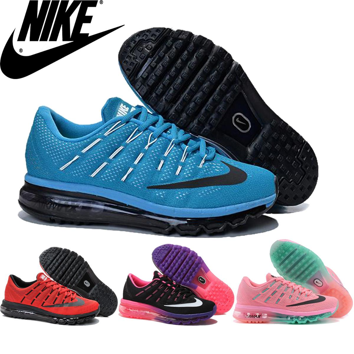 finest selection 075b9 1bf04 Nike Air Max 2016 Gs Womens  Running Shoe Black Pink Pow Volt Reflect  Silver,Original Air Maxes Airmax 2016 For Women Sports Shoes Shoes Running  Boys ...