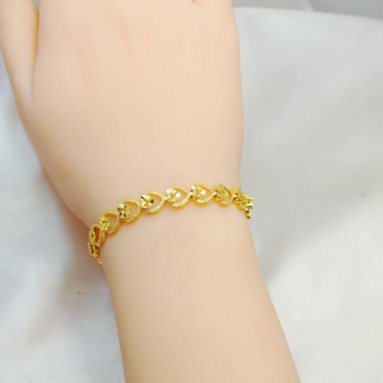 Online Cheap Korean Fashion Trend Of The New Heart Bracelet Female ...