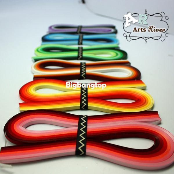 Großhandel 1509 720 Streifen Mischten 36 Farben 5mm Quilling Papier