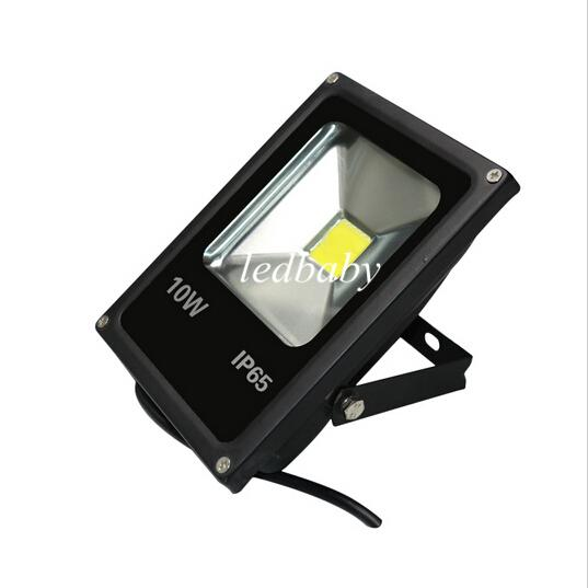 New Ultrathin 10W 20W 30W 50W LED Flood Light Impermeabile AC85-265V COB poweroutdoor wall Proiettore Warm / Cool Bianco Giallo / Rosso / Verde / Blu