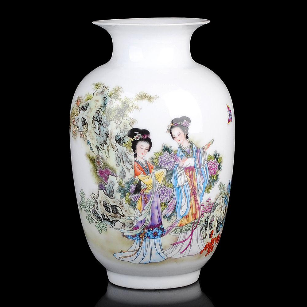 Vintage ceramic vase home decoration ancient beauty porcelain vase vintage ceramic vase home decoration ancient beauty porcelain vase flower decoration adornment handicraft furnishing articles high quality ceramic vase reviewsmspy