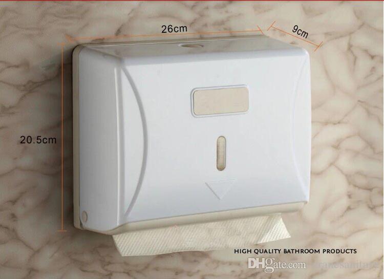 2018 Z Fold Hand Towel Dispenser Plastic Tissue Holder