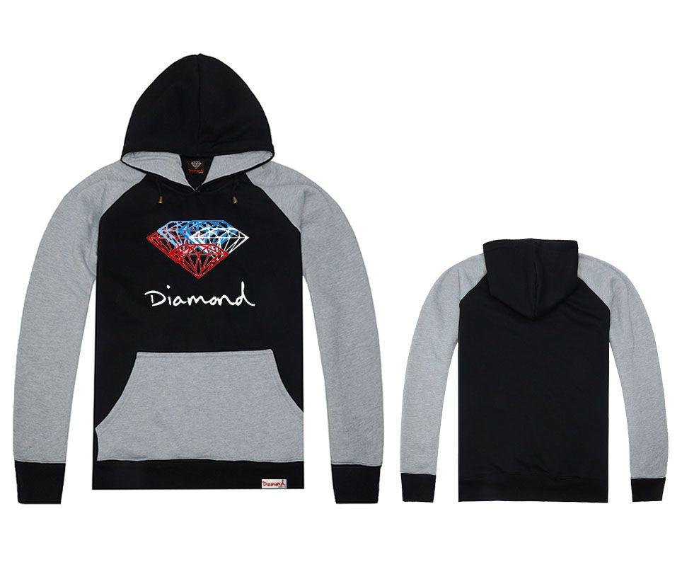 Hot New Fashion Men's spring autumn Hoodie pullover sportswear hip hop sweatshirt diamond supply co hoodies