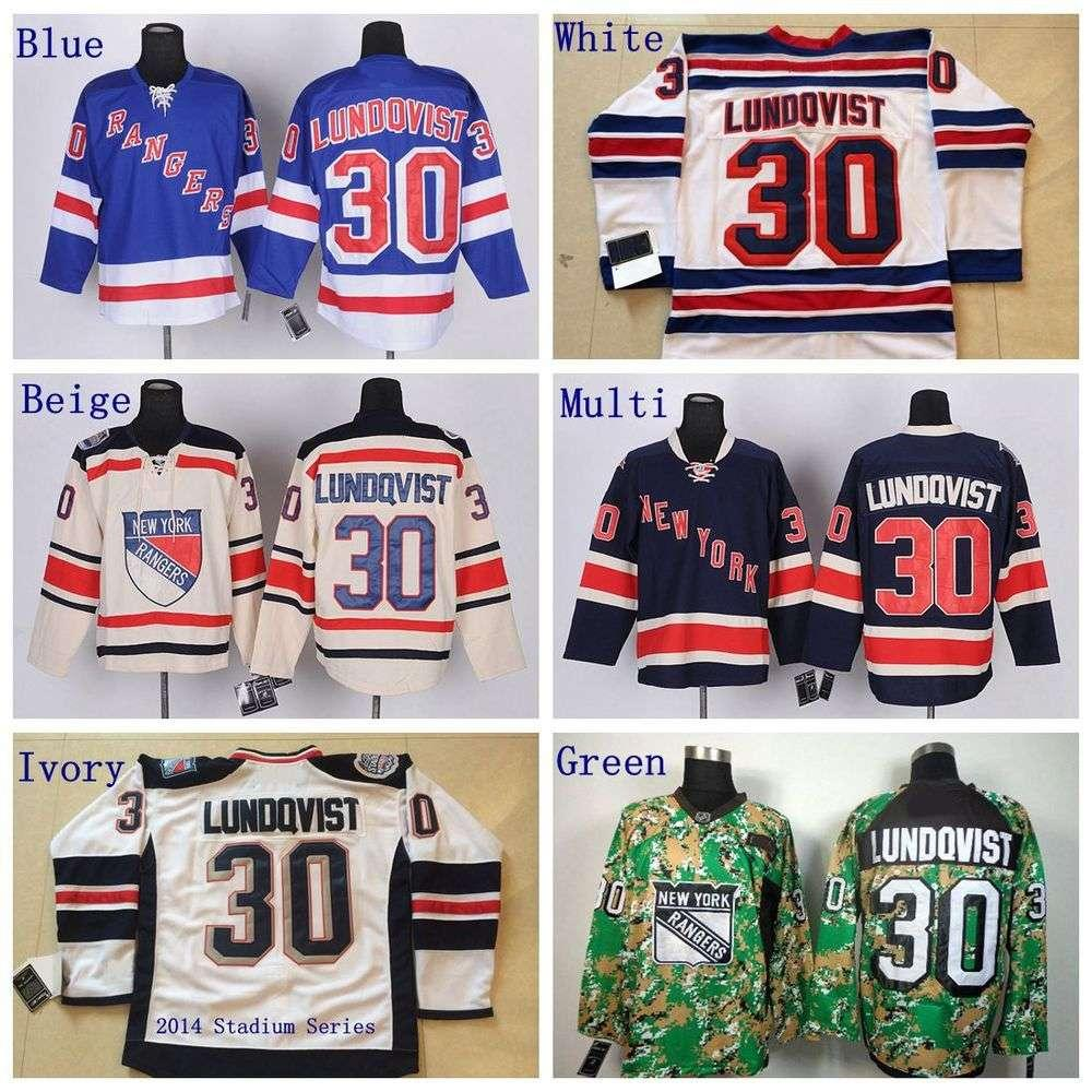 60c935b5a ... New York Rangers 30 Henrik Lundqvist Authentic Royal Blue Home NHL  Jersey See larger image ...