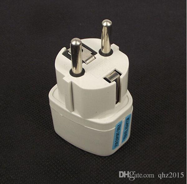 Универсальный дорожный адаптер Австралии, Австралии, США, США и Великобритании к ЕС Подключите сетевой адаптер переменного тока 250В 10A Розетка-преобразователь