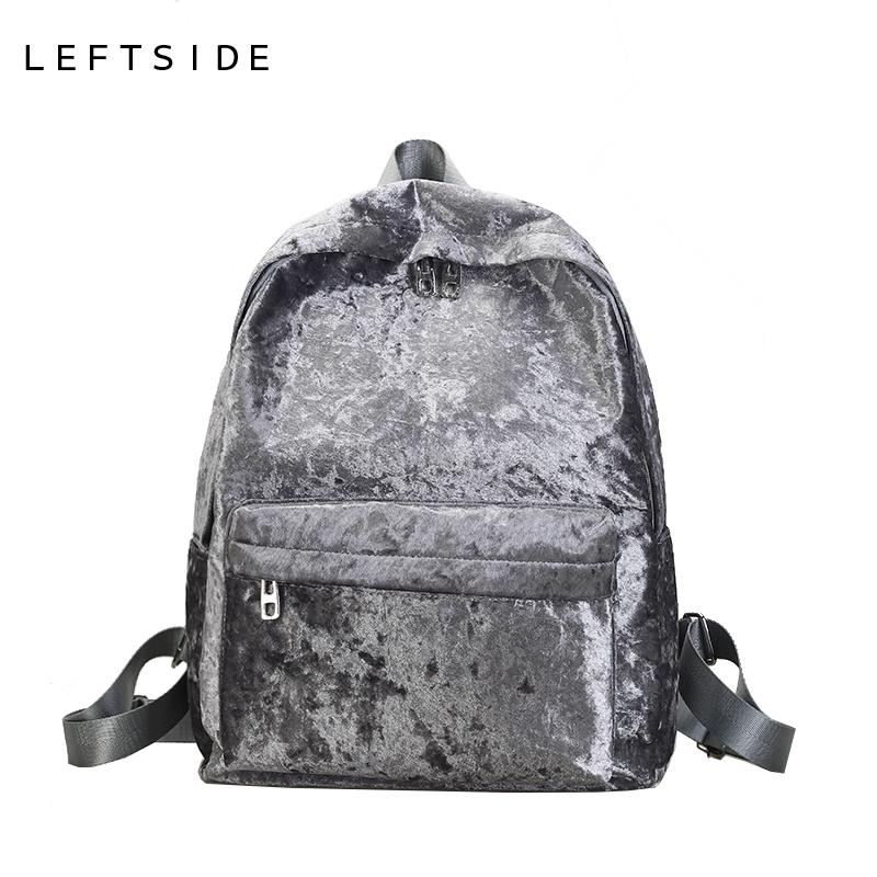c4aef414be Women Simple Designer Velvet Retro Large Capacity Backpack Teens Girls Big  Back Pack Casual Teenage Travel Bag 171103 High Quality Backpacks Backpacks  ...