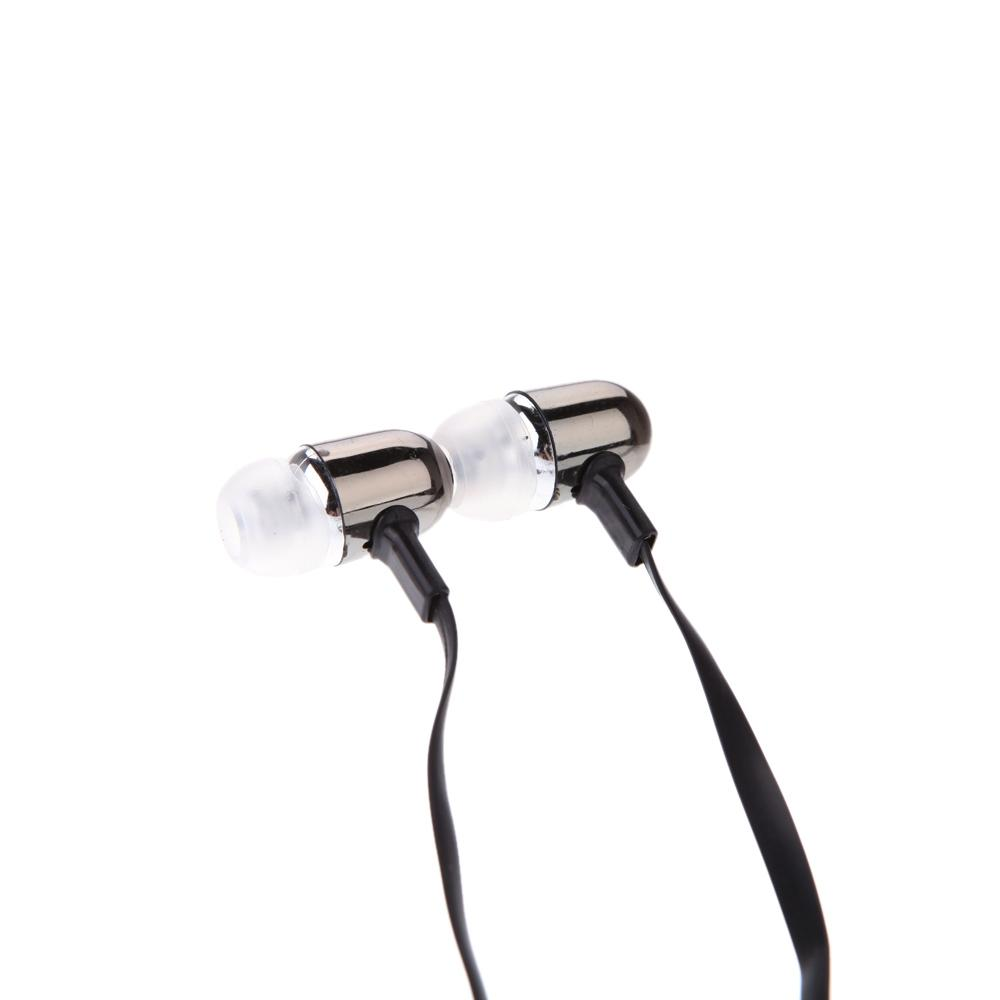 3.5mm Earphone In-Ear Stereo Sound Flat Cable Headphone for iPod iPhone MP3 MP4 Smartphone headset in ear