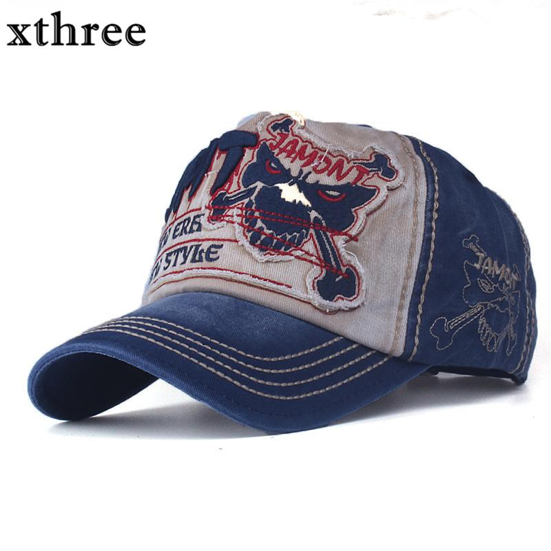 6920025af01aa Xthree Cotton Fasion Leisure Baseball Cap Hat For Men Snapback Hat  Casquette Women S Cap Wholesale Fashion Accessories Flat Caps Trucker Caps  From Crazyxb