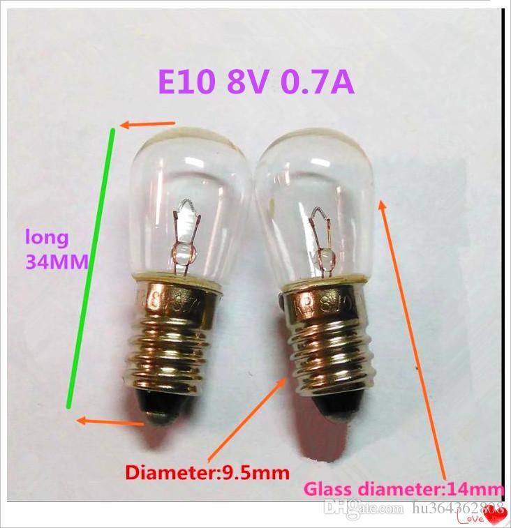 2019 Bulbs E10 8v 0 7a Wholesale Halogen Bulbs E10 8v