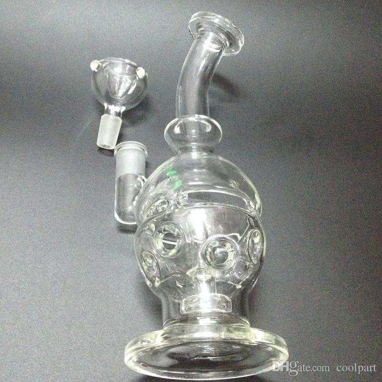 New Arrival Glass Bongs Water Hookah Glass Tube Water Pipe glass bong glass skull bong 2015 fag egg bongs freen shipping