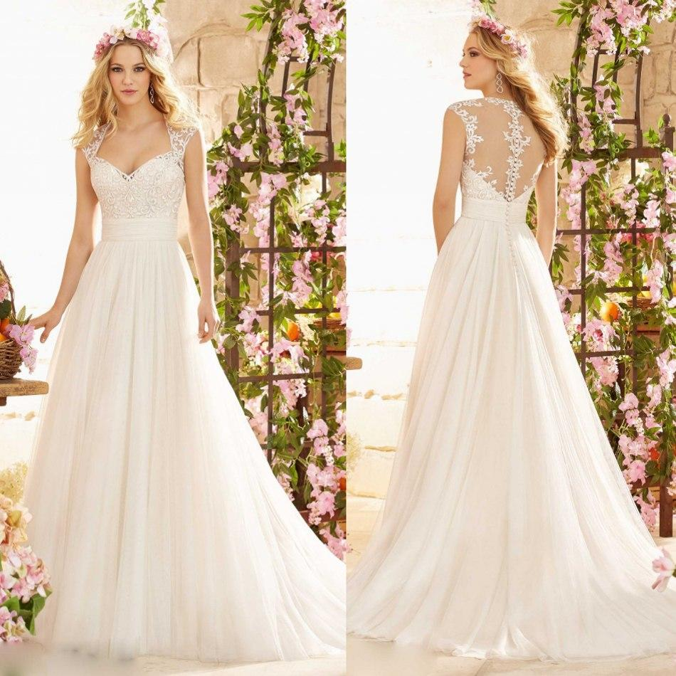 Cheap Wedding Dresses For Sale: Hot Sale Wedding Dresses 2015 New Summer A Line Sweetheart