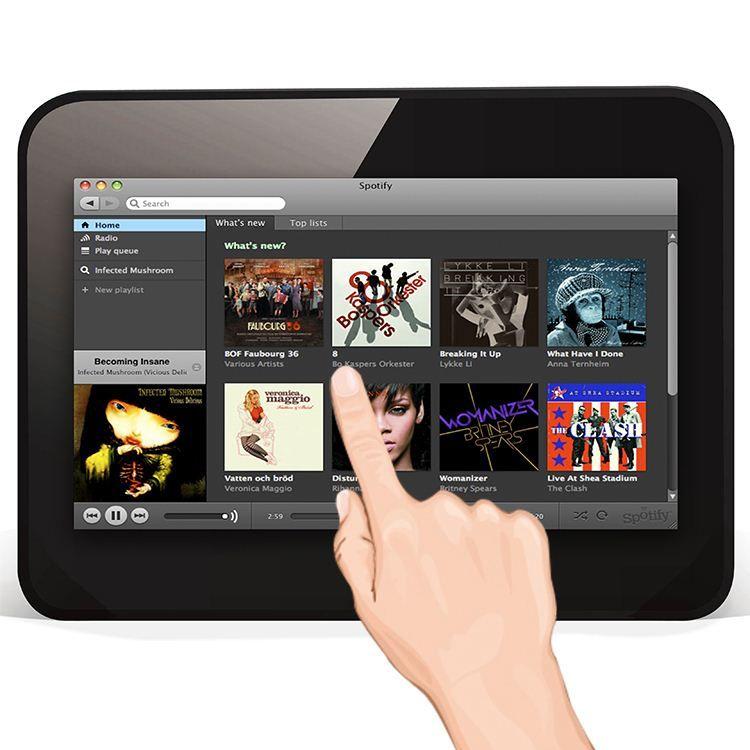 7 Inch WF702 Andrdoid Tablet HIFI PAD Portable Internet Radio for ...
