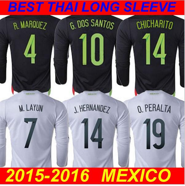 33dc82a8e ... Jersey cheap USNC8K 2016 Copa America Centenario Mexico 10 Jonathan dos  Santos National Team Home Football Soccer See larger image .