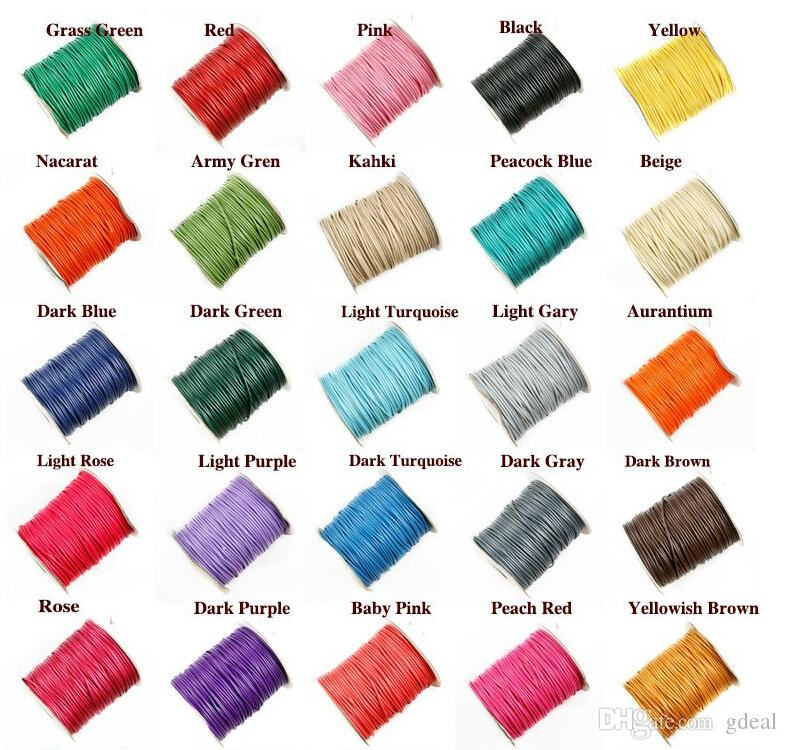 macrame supplies wholesale 2018 wire cord satin knotting string for 9783