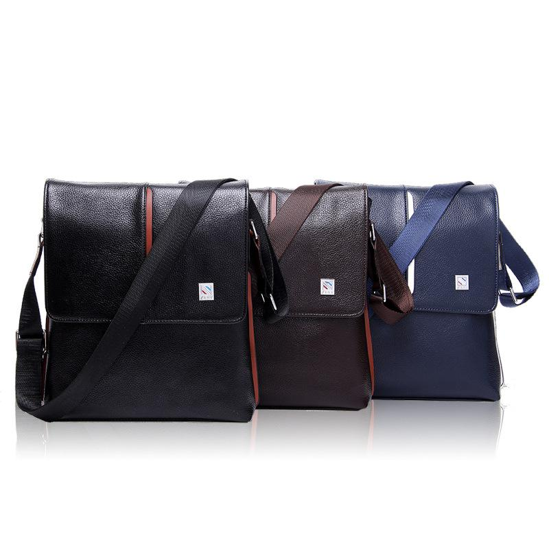 fc10963d0a Kangaroo Briefcases Man Vertical Genuine Leather Bag Men Messenger  Commercial Men S Briefcase Designer Handbags High Quality Shoulder Bags  Laptop Bags For ...