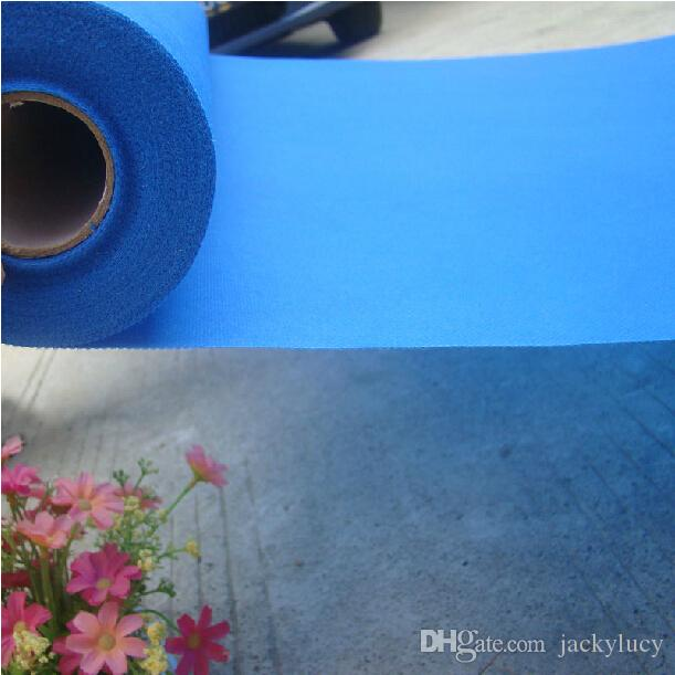 20 Meters/roll Blue Wedding Theme Nonwoven Fabric Carpet Aisle Runner For Wedding Party Decoration Supplies