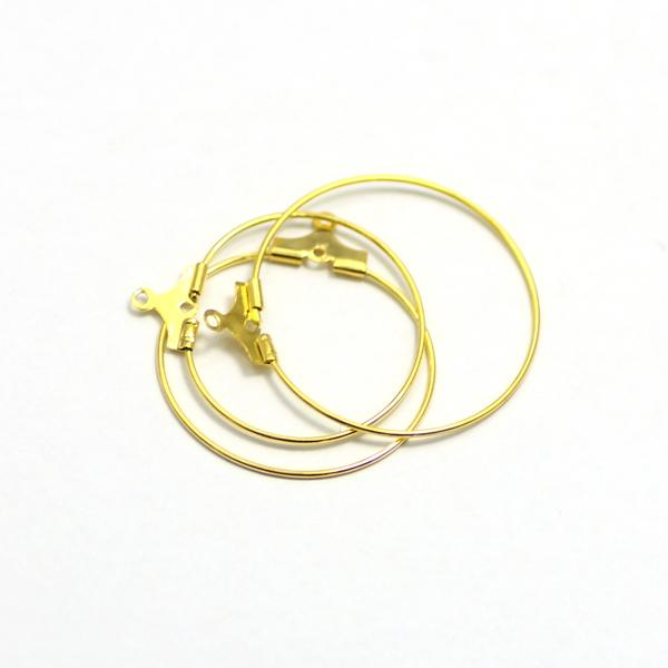 DIY ysh2021 brass princess jewelry accessory for women part findings for jewelry making 30mm gold earring hook hoop drop shipping