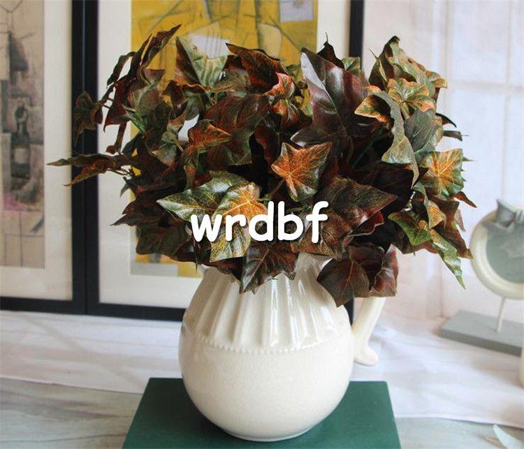 Hoja de otoño de seda CALIENTE Planta de hoja 30cm / 11.81
