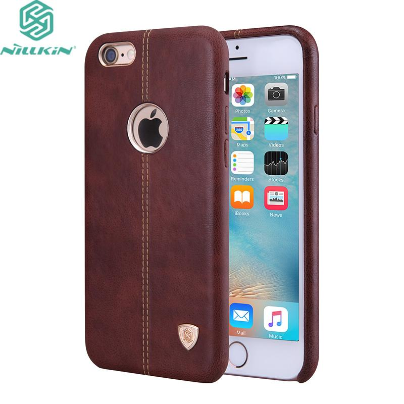 For Apple Iphone 6 6s Plus 7 7 Plus 5 .5 Case Original Nillkin Englon  Leather Cases For Iphone 6 6s 7 4 .7 Phone Back Covers Cell Phone Cases  Covers Cell ... 1c25b8f873