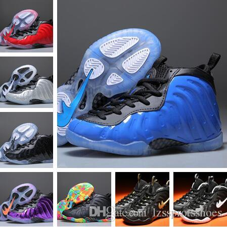 online store 88185 2200b 2019 Kids Penny Hardaway Galaxy One 1 Children Basketball Shoes Olympic  Running Shoes Sneakers Boys Olympic Training Sports Shoes 1Y From  Lzssprotsshoes, ...