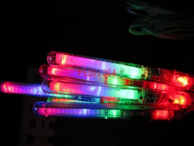 / 무료 배송 파티 막대 데코 콘서트 응원을 위해 21cm 다채로운 LED 깜박이 글로우 스틱 지팡이