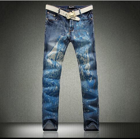 2017 2015 Hot Mens Designer Jeans Famous Brand Fashion Jeans Men ...