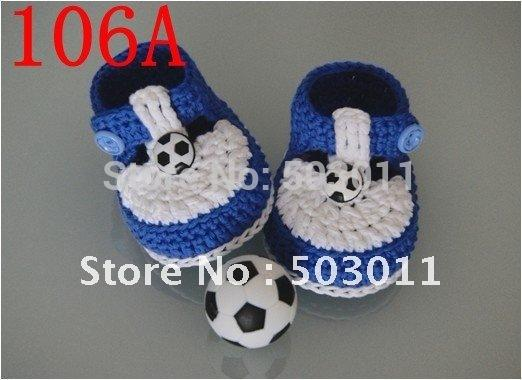 Handmade Crochet Baby Shoes,Crochet knitting baby shoes first walker shoes,to all country