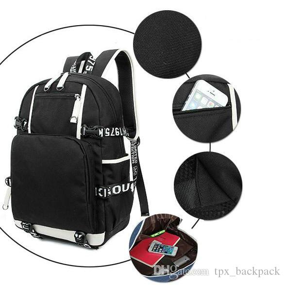 Como Mike mochila Esmagar o pacote de dia de casa Top saco de escola DJ Lazer packsack Mochila de computador Mochila de esporte Mochila ao ar livre