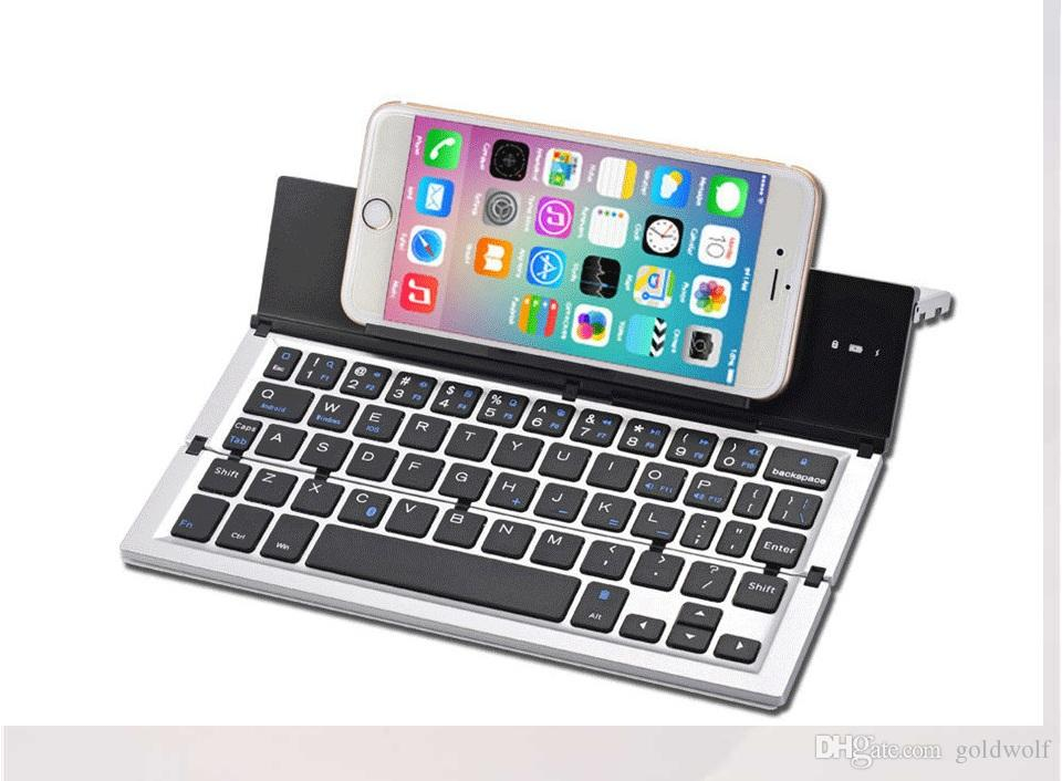 dff174720d4 Wholesale New Arrival Mini Keyboard 3.0 Folding Foldable Bluetooth Keyboards  For Apple IPhone/IPad Pro/MacBook IOS Android Phone Tablet PC Keyboards ...